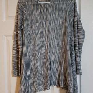 Knox Rose Sweater Blue/White Size M